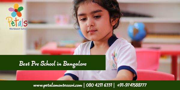 Best Pre School in Bangalore