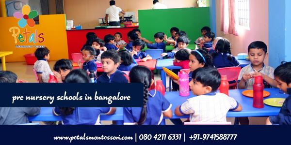 pre nursery schools in bangalore
