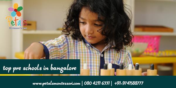 top pre schools in bangalore
